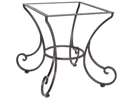 OW Lee Bellini Wrought Iron Dining Table Base