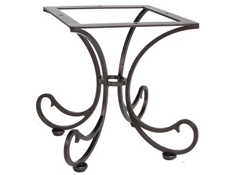 OW Lee Bellini Wrought Iron Side Table Base