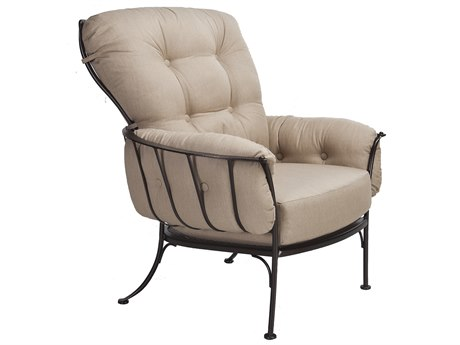 OW Lee Monterra Wrought Iron Club Chair
