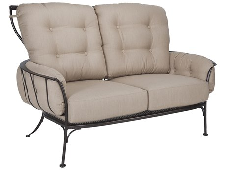 OW Lee Monterra Wrought Iron Two Seat Sofa