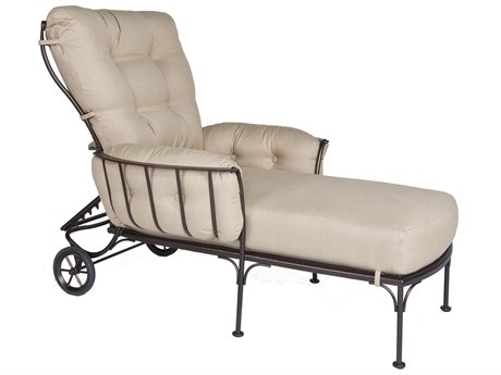 OW Lee Monterra Wrought Iron Adjustable Chaise
