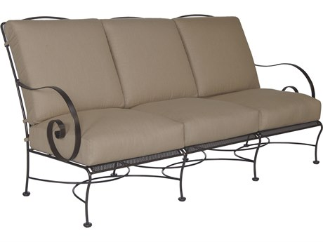 OW Lee Avalon Wrought Iron Sofa