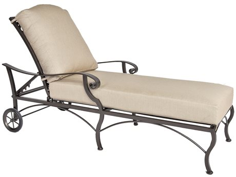 OW Lee Palisades Aluminum Adjustable Chaise Lounge