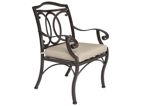 OW Lee Palisades Aluminum Dining Arm Chair