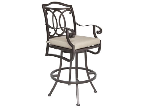 OW Lee Palisades Aluminum Swivel Bar Stool