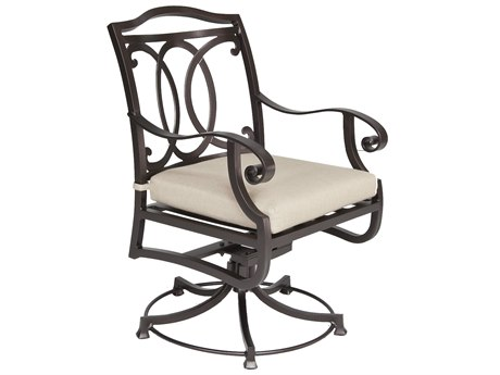 OW Lee Palisades Aluminum Swivel Rocker Dining Chair