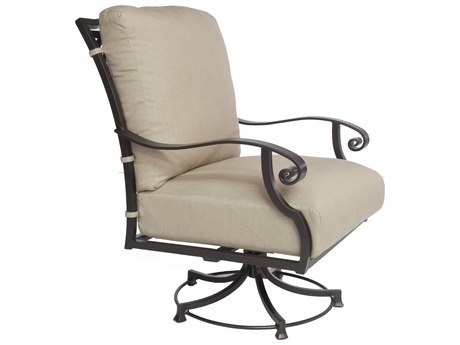 OW Lee Palisades Aluminum Swivel Rocker Club Chair