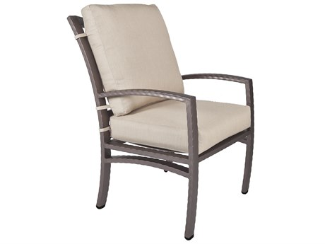 OW Lee Sol Wrought Iron Club Dining Arm Chair