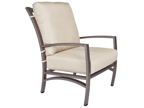 OW Lee Sol Wrought Iron Lounge Chair