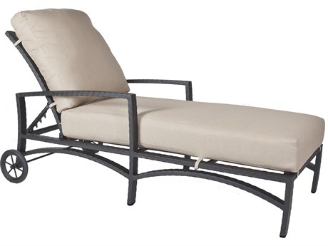 OW Lee Sol Wrought Iron Adjustable Chaise