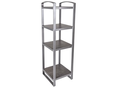OW Lee Pacifica Wrought Iron Entertainment Tower