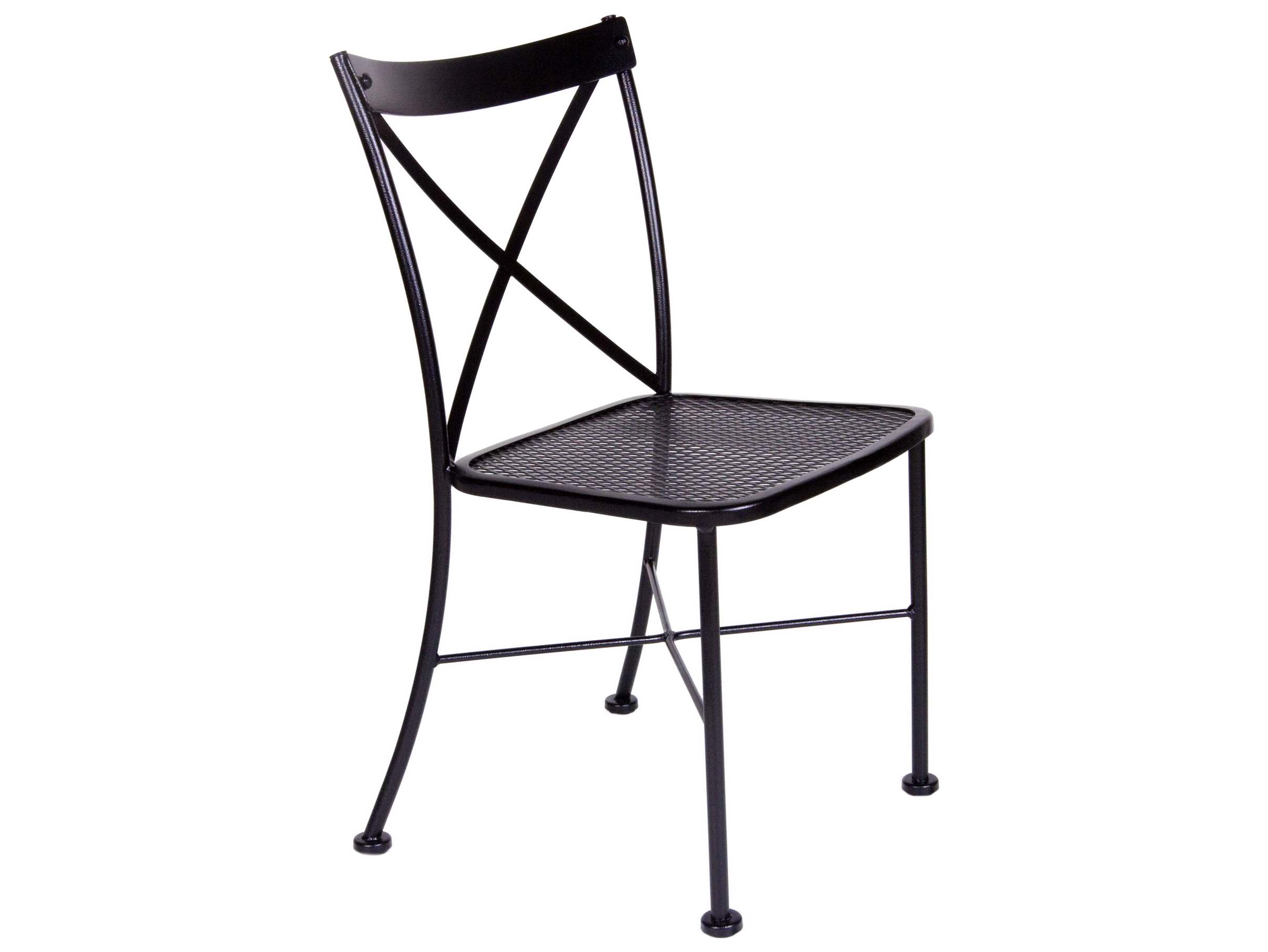 Ow Lee Villa Wrought Iron Metal Side Dining Chair 507 S