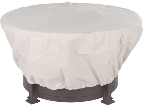 OW Lee Casual Fireside Fabric Cover for 42 Round Hearth top