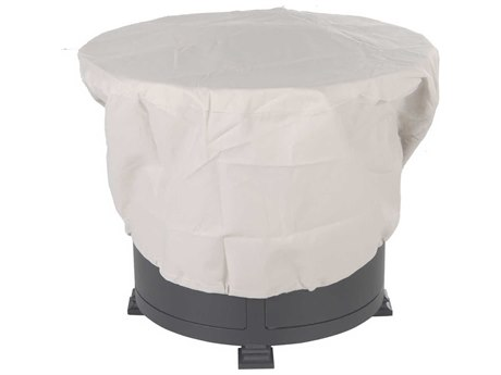OW Lee Casual Fireside Fabric Cover for 30 Round Hearth top