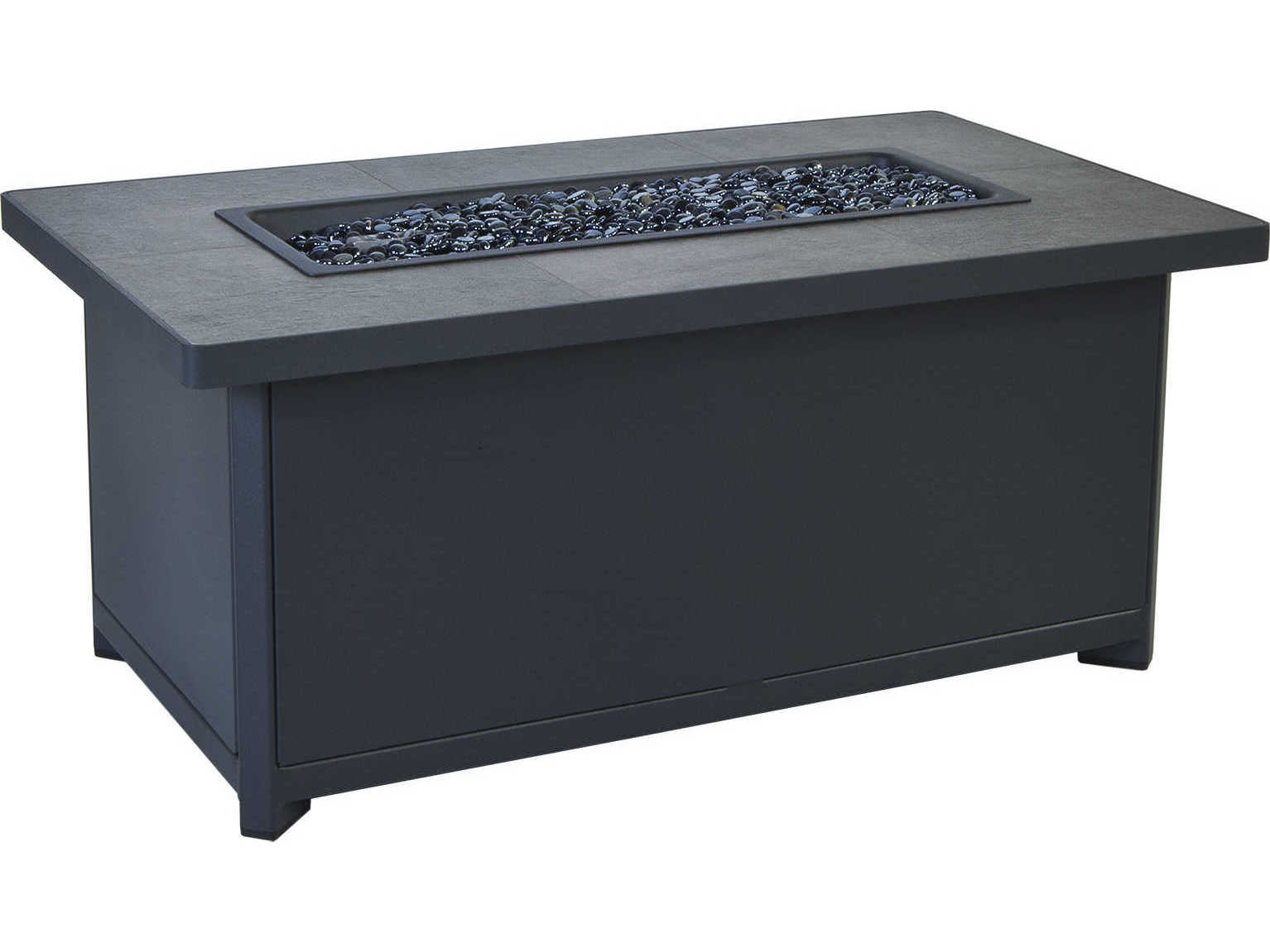 Ow Lee Gios Aluminum Firepit Lounge Set Giosfrpitlngset