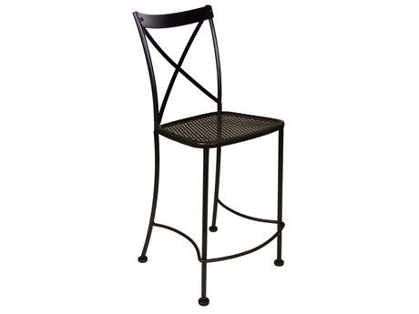 OW Lee Villa Wrought Iron Bar Stool