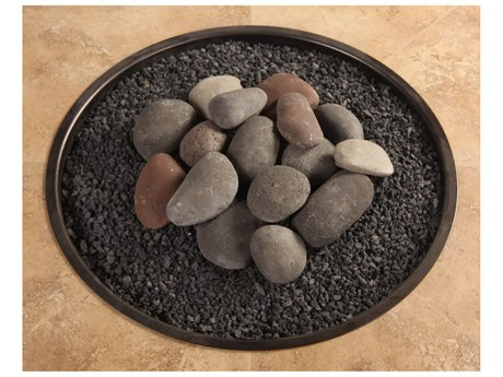OW Lee Casual Fireside Fire Media Hi-Heat Ceramic Rock Kit with Lava Granules PatioLiving