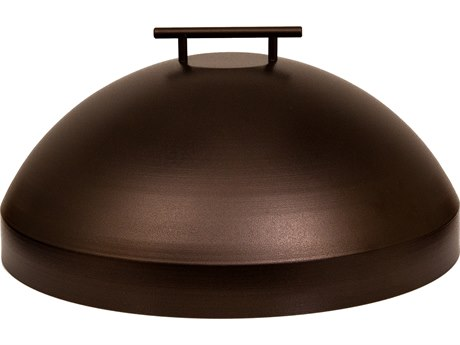 OW Lee Casual Fireside Wrought Iron Small Dome Cover PatioLiving