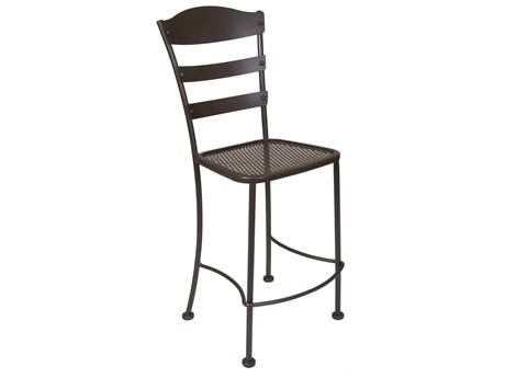 OW Lee Chalet Wrought Iron Bar Stool