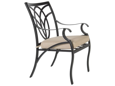 OW Lee Belle Vie Aluminum Dining Arm Chair