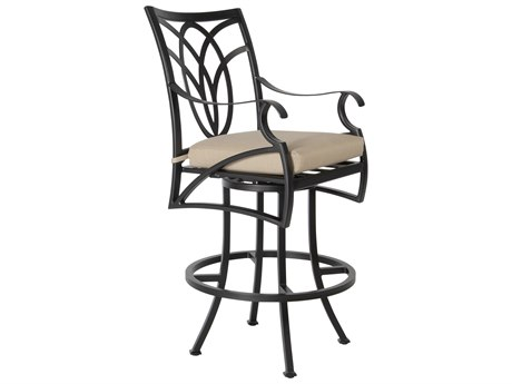 OW Lee Belle Vie Aluminum Swivel Bar Stool
