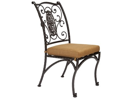 OW Lee San Cristobal Wrought Iron Dining Side Chair