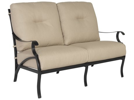 OW Lee Grand Cay Aluminum Loveseat