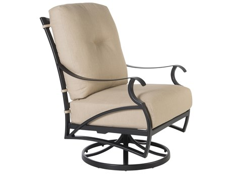 OW Lee Grand Cay Aluminum Swivel Rocker Lounge Chair