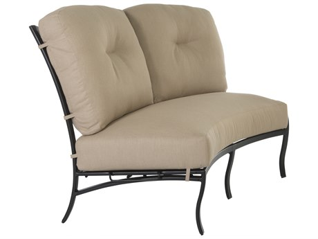 OW Lee Grand Cay Aluminum Modular Loveseat