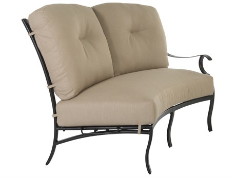 OW Lee Grand Cay Aluminum Left Arm Loveseat