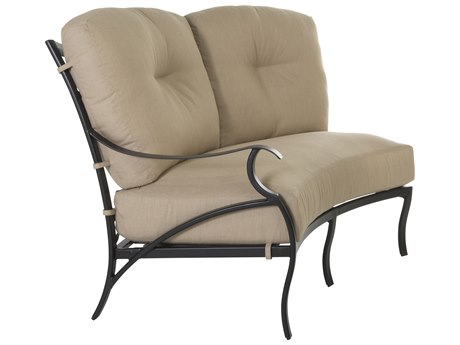 OW Lee Grand Cay Aluminum Right Arm Loveseat