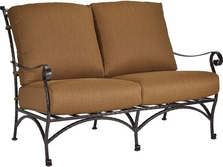 OW Lee San Cristobal Wrought Iron Two Seat Sofa
