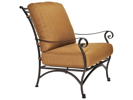 OW Lee San Cristobal Wrought Iron Club Chair