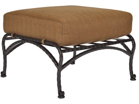 OW Lee San Cristobal Wrought Iron Ottoman