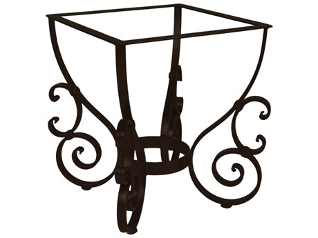 OW Lee San Cristobal Wrought Iron Dining Table Base