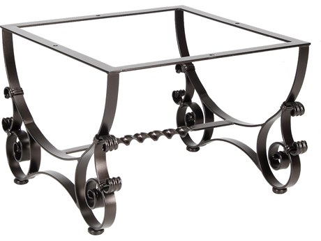 OW Lee San Cristobal Wrought Iron 25 Coffee Table Base