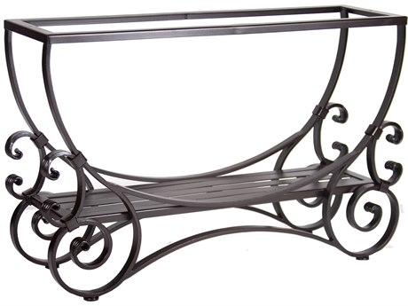 OW Lee San Cristobal Wrought Iron 46 x 14 Rectangular Console Table Base