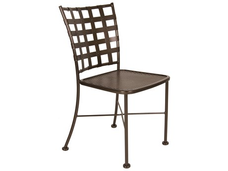 OW Lee Casa Wrought Iron Dining Chair PatioLiving