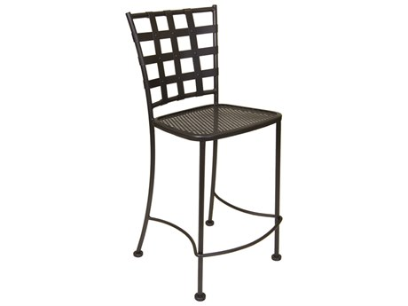 OW Lee Casa Wrought Iron Counter Stool OW716CS