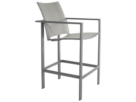 OW Lee Studio Aluminum Flex Comfort Stationary Bar Stool