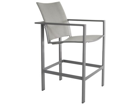 OW Lee Studio Aluminum Flex Comfort Stationary Counter Stool