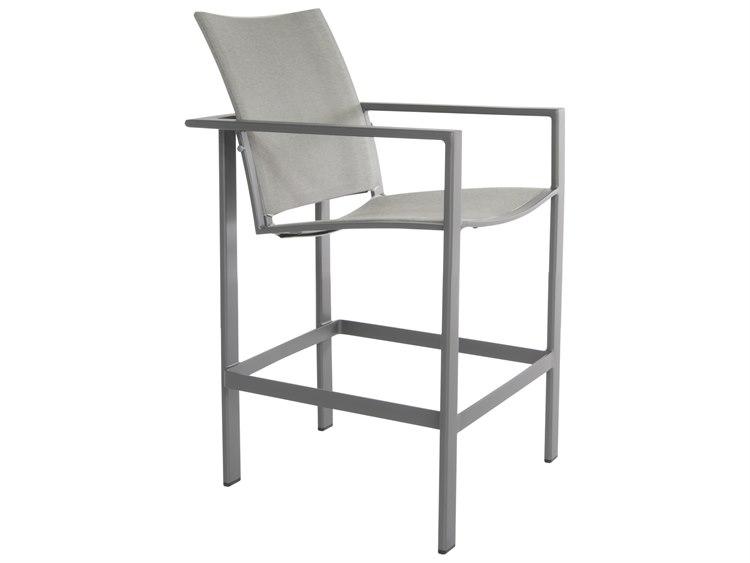 OW Lee Studio Aluminum Flex Comfort Stationary Counter Stool PatioLiving