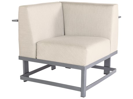 OW Lee Studio Aluminum Corner Lounge Chair