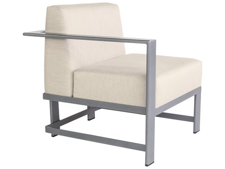 OW Lee Studio Aluminum Right Arm Lounge Chair