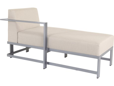 OW Lee Studio Aluminum Right Arm Chaise Lounge