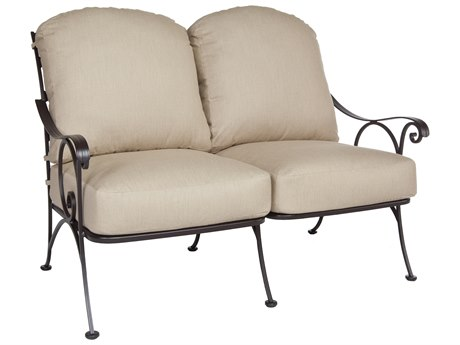 OW Lee Siena Wrought Iron Loveseat