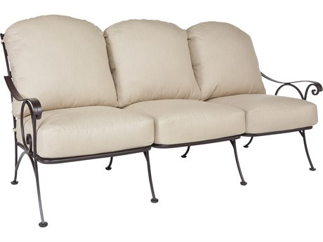 OW Lee Siena Wrought Iron Sofa