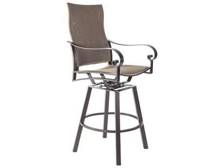 OW Lee Pasadera Steel Flex Comfort Swivel Counter Stool With Arms