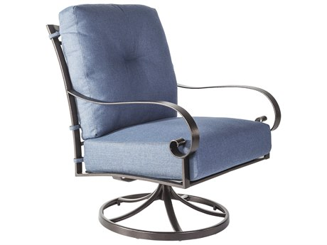 OW Lee Pasadera Steel Swivel Rocker Lounge Chair
