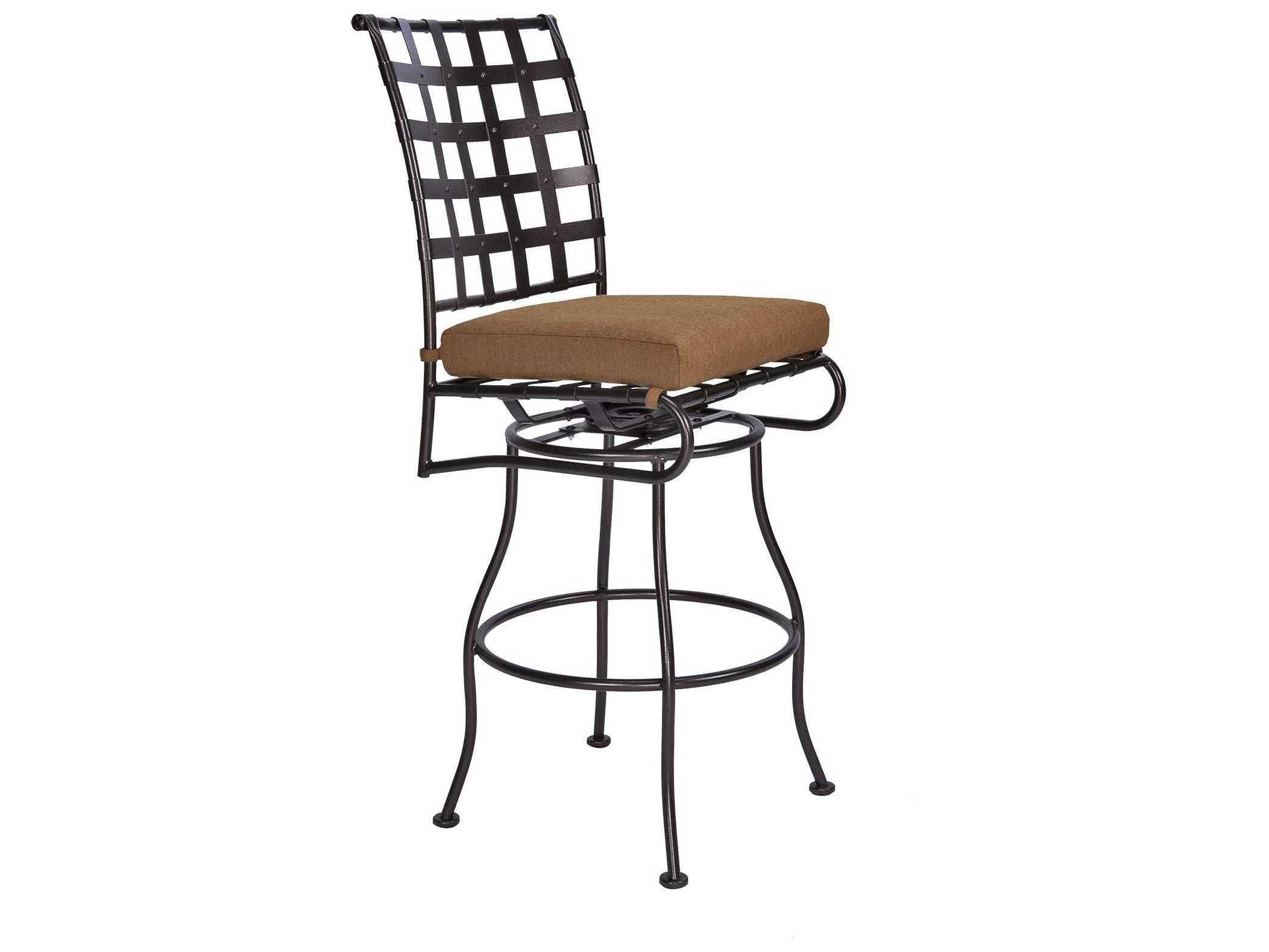 ow lee classico swivel bar stool replacement cushions 951 sbsch. Black Bedroom Furniture Sets. Home Design Ideas